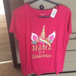 Momma of a Unicorn shirt